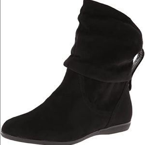 Womens Also Anesa Black Slouch Boots - 7.5
